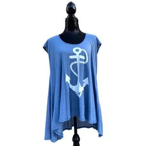 Wildfox Anchor Tunic Shirt